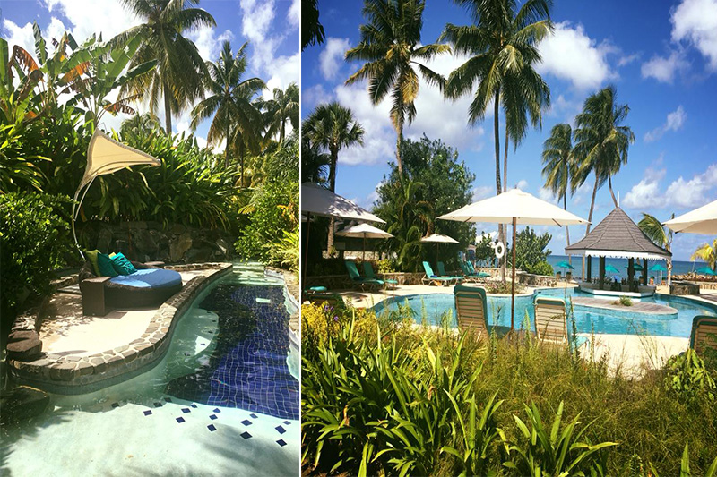 Natasha shares her experiences - St Lucia honeymoons - Rendezvous - pool1
