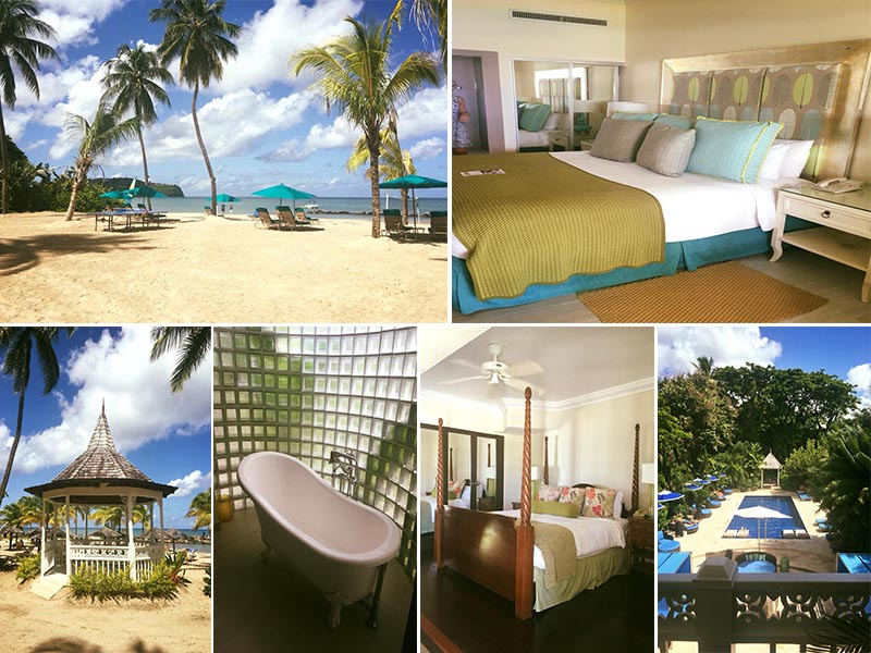 Natasha shares her experiences - St Lucia honeymoons - Rendezvous - rooms
