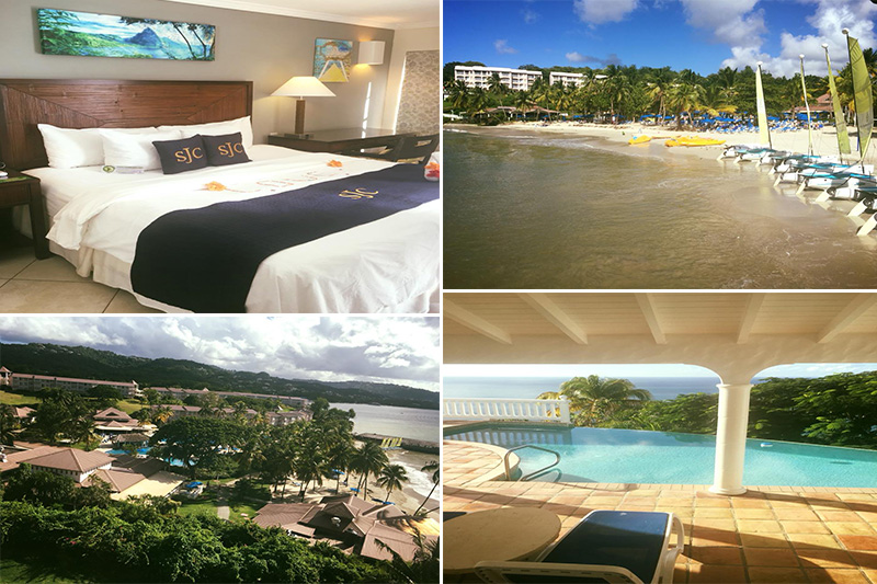 Natasha shares her experiences - St Lucia honeymoons - St James club morgan bay - location