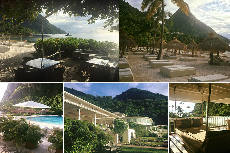 Natasha shares her experiences - St Lucia honeymoons - Sugar Beach - location
