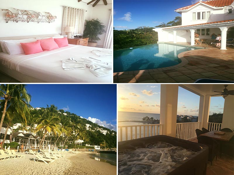 Natasha shares her experiences - St Lucia honeymoons - Windjammer landings - rooms1