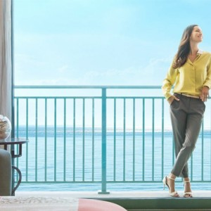 Ocean Deluxe Room - Atlantis The Palm dubai - Luxury dubai honeymoon packages