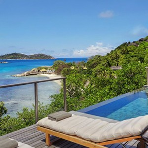 Ocean Front Pool Villa - six senses zil pasyon - luxury seychelles honeymoon packages