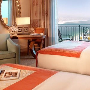 Palm Beach Deluxe Room 3 - Atlantis The Palm dubai - Luxury dubai honeymoon packages