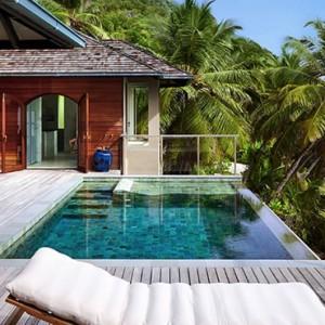 Payson Pool Villa - six senses zil pasyon - luxury seychelles honeymoon packages