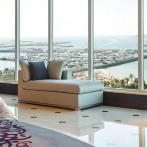 Presidential Suite - Le Meridien Mina seyahi - Luxury dubai Honeymoon Packages