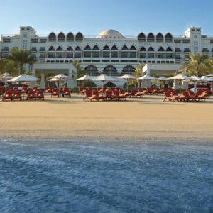 Private Beach Jumeirah Zabeel Saray Luxury Dubai Honeymoon Packages