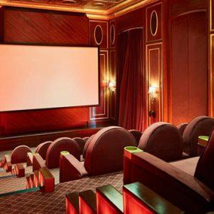Private Cinema Jumeirah Zabeel Saray Luxury Dubai Honeymoon Packages