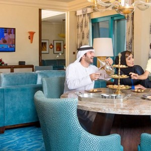 Regal Club Suite 3 - Atlantis The Palm dubai - Luxury dubai honeymoon packages