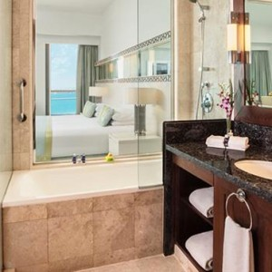 Sea View Junior Suite 4 - JA Ocean View Hotel - Luxury Dubai honeymoon packages