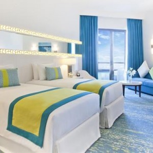 Sea view Room 3 - JA Ocean View Hotel - Luxury Dubai honeymoon packages