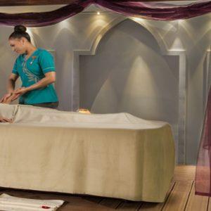 Spa Massage Jumeirah Zabeel Saray Luxury Dubai Honeymoon Packages