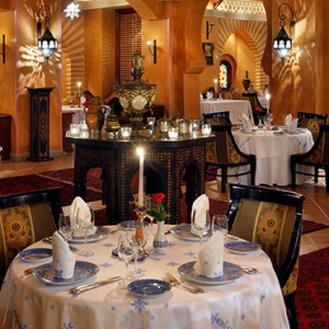 Tagine - One and Only Royal Mirage - Luxury Dubai Honeymoon Packages