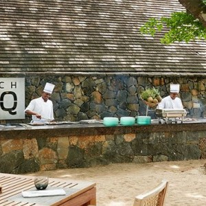 The Ravenala Attitude - Luxury mauritius honeymon packages - Beach BBQ