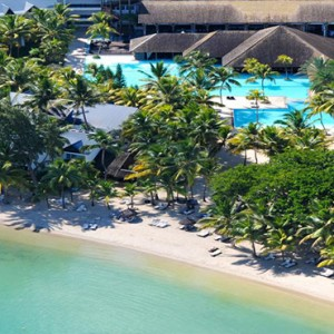 The Ravenala Attitude - Luxury mauritius honeymoon packages - Aerial view