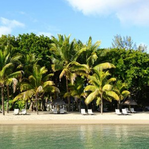 The Ravenala Attitude - Luxury mauritius honeymoon packages - beach view