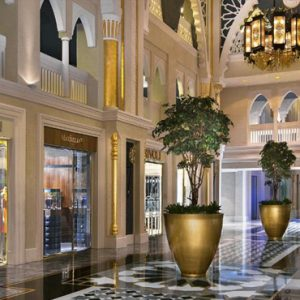The Avenue Of Indulgence Jumeirah Zabeel Saray Luxury Dubai Honeymoon Packages