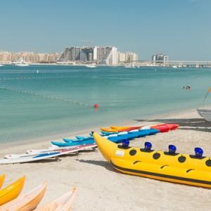 beach 3 - Le Meridien Mina seyahi - Luxury dubai Honeymoon Packages