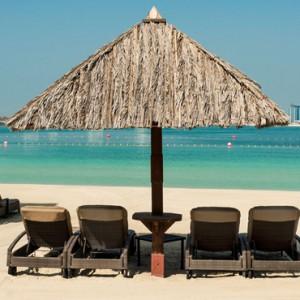 beach - Le Meridien Mina seyahi - Luxury dubai Honeymoon Packages