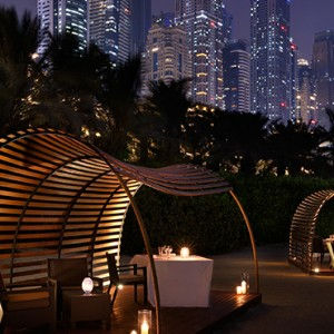 beach bar and grill 2 - One and Only Royal Mirage - Luxury Dubai Honeymoon Packages