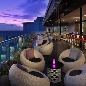 bommu rooftop bar - amari galle sri lanka - luxury sri lanka honeymoon packages