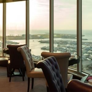 club lounge- Le Meridien Mina seyahi - Luxury dubai Honeymoon Packages