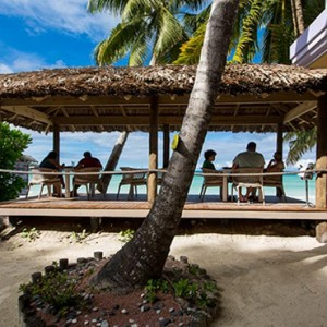 dining 2 - le duc de praslin - luxury seychelles honeymoon packages
