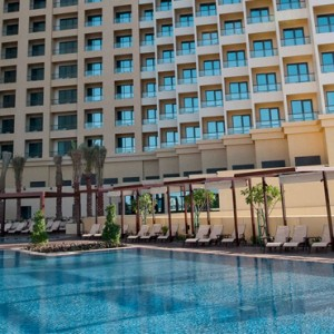 exterior 2 - JA Ocean View Hotel - Luxury Dubai honeymoon packages