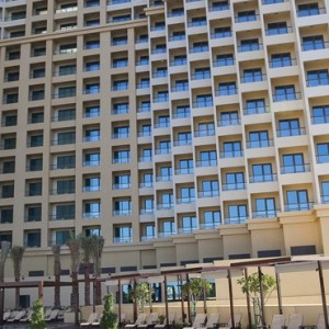 exterior - JA Ocean View Hotel - Luxury Dubai hooneymoon packages