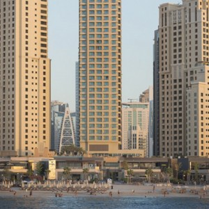 exterior - sofitel dubai jumeirah beach - luxury dubai honeymoon packages