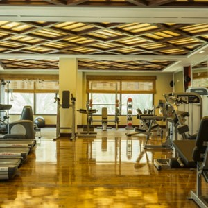 gym - sofitel dubai jumeirah beach - luxury dubai honeymoon packages