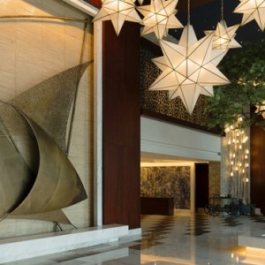 lobby - sofitel dubai jumeirah beach - luxury dubai honeymoon packages