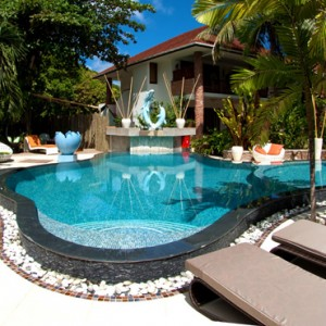 pool 2 - le duc de praslin - luxury seychelles honeymoon packages