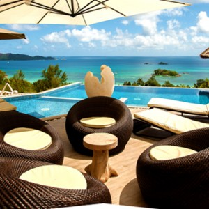 pool - le duc de praslin - luxury seychelles honeymoon packages