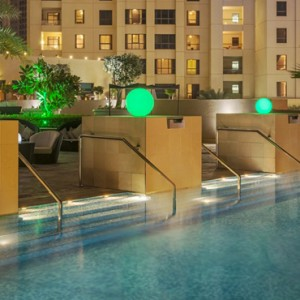 pool - sofitel dubai jumeirah beach - luxury dubai honeymoon packages