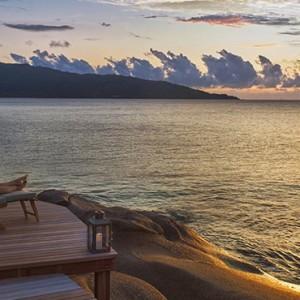 sunset - six senses zil pasyon - luxury seychelles honeymoon packages