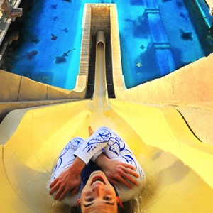 water ride - Atlantis The Palm dubai - Luxury dubai honeymoon packages