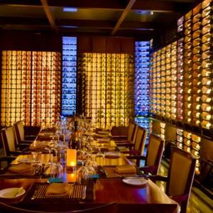 wine cellar - Sun Aqua Pasikudah - Luxury Sri Lanka Honeymoon Packages
