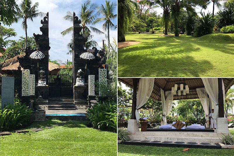 Abbies Bali Blog - Laguna Bali Nusa Dua - entrance