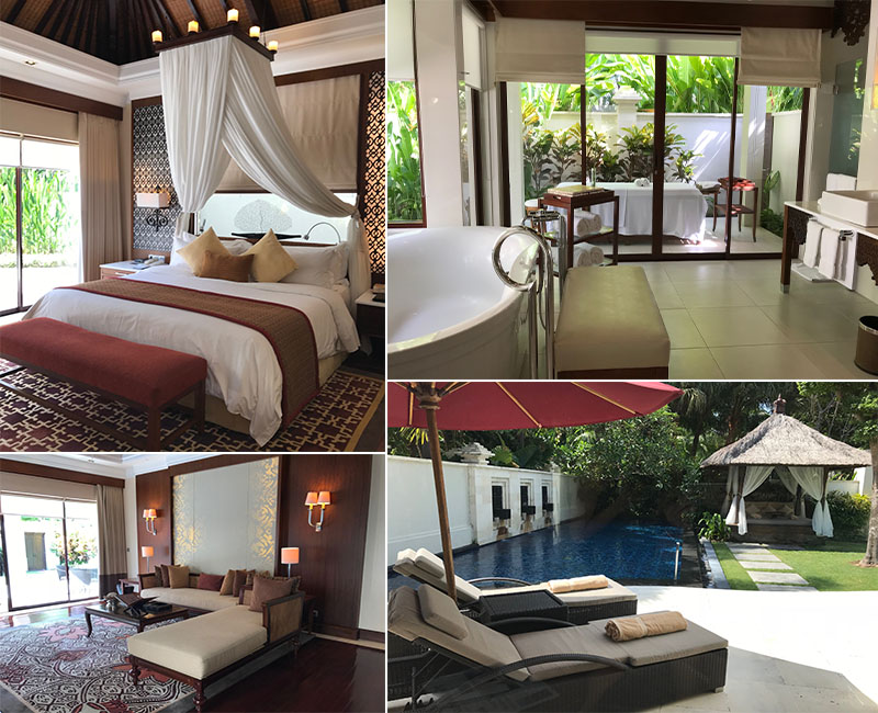Abbies Bali Blog - Laguna Bali Nusa Dua -pool villas