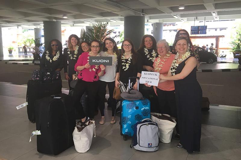 Abbies Bali Blog - bali fam trip - airport group photo