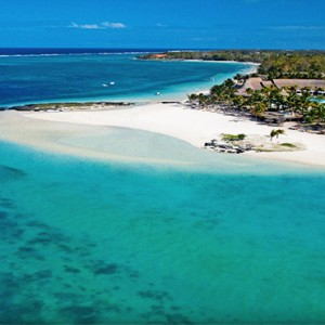 Luxury Mauritius Honeymoon Packages - Lux* Belle Mare - Aerial view