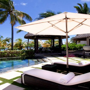 Luxury Mauritius Honeymoon Packages - Lux* Belle Mare - Beachfront Villa exterior