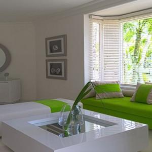 Luxury Mauritius Honeymoon Packages - Lux* Belle Mare - Honeymoon suite living area1