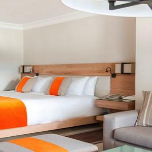 Luxury Mauritius Honeymoon Packages - Lux* Belle Mare - Junior suite bedroom