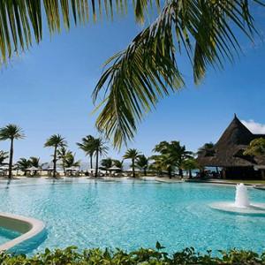 Luxury Mauritius Honeymoon Packages - Lux* Belle Mare - Pool1
