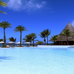 Luxury Mauritius Honeymoon Packages - Lux* Belle Mare - Pool2