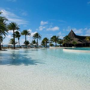 Luxury Mauritius Honeymoon Packages - Lux* Belle Mare - Pool4
