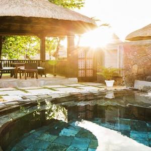 Luxury Mauritius Honeymoon Packages - Lux* Belle Mare - Prestige Villa exterior pool