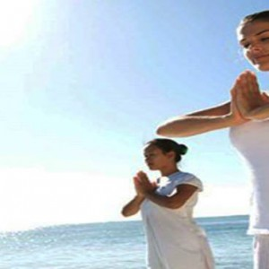 Luxury Mauritius Honeymoon Packages - Lux* Belle Mare - Yoga